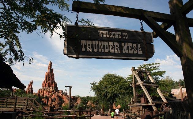 Frontierland, Disneyland Paris