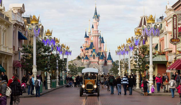 Disneyland Paris parken – forlystelserne