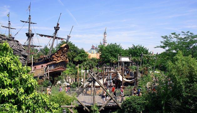 Adventureland, Disneyland Paris