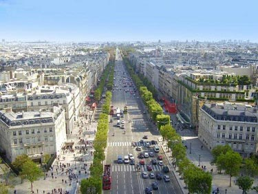 Champs Elysees Triumfbuen