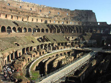colosseum indenfor