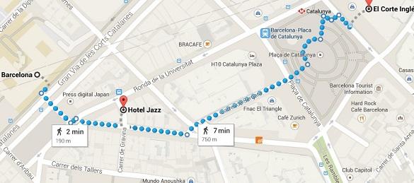 Bo på Hotel Jazz
