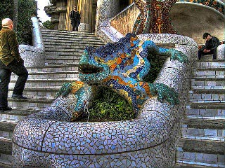 Park Guell indgang