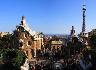 Park Guell indgang2