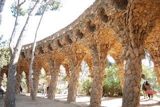 Park Guell gangbro, Barcelona