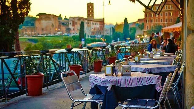 Hvor skal man bo i Rom?