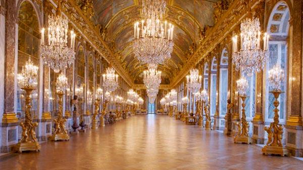Versailles, spejlsalen, Paris