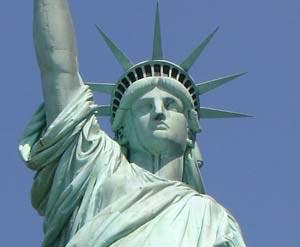 Frihedsgudinden, New York