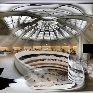 Guggenheim, indvendigt, New York