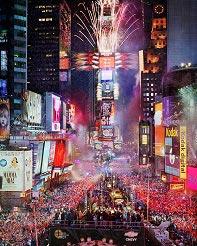 Times Square, nytårsaften, New York
