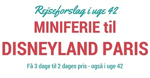 Miniferie til Disneyland Paris?