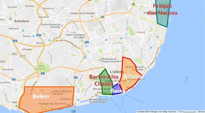Områder-bydele-Lissabon-bo