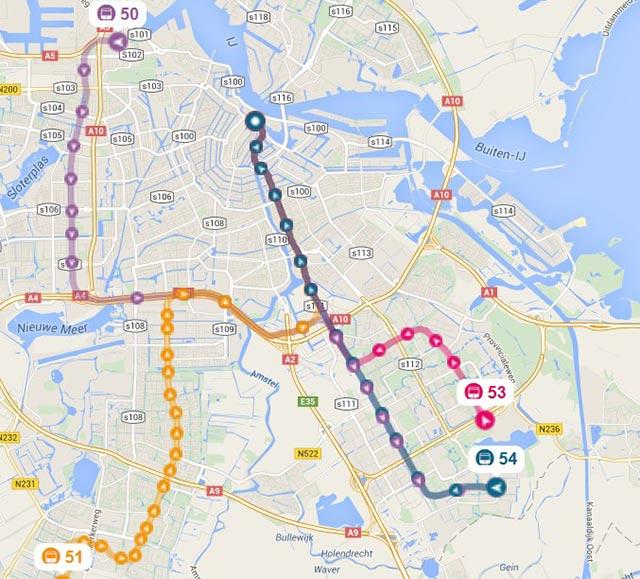 amsterdam-transport-metro-kort