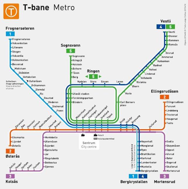 t-banen-linjekort-metro-oslo