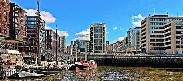 Hvor skal man bo i Hamborg