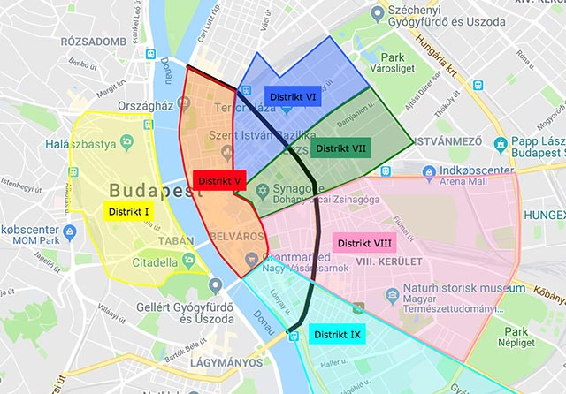 Hvor Skal Man Bo I Budapest De Tre Bedste Omrader